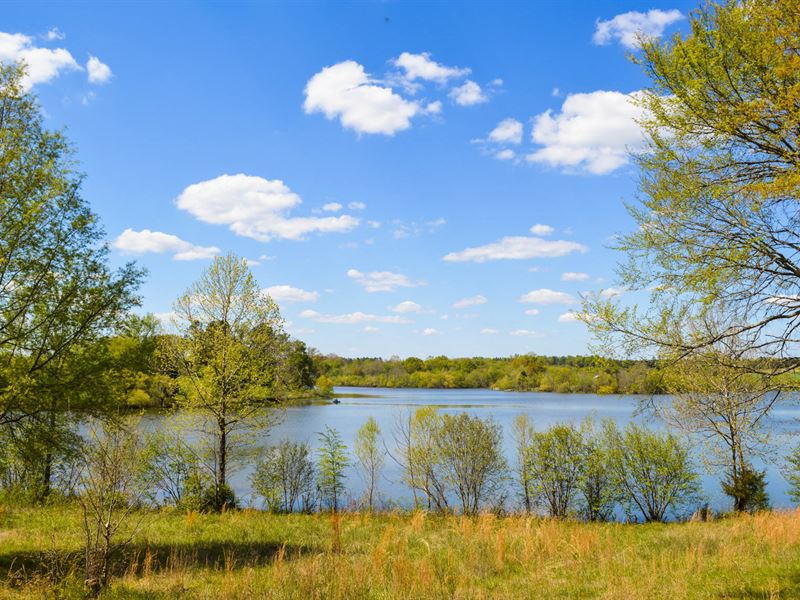 32 Acre Lakefront Property : Waterloo : Laurens County : South Carolina