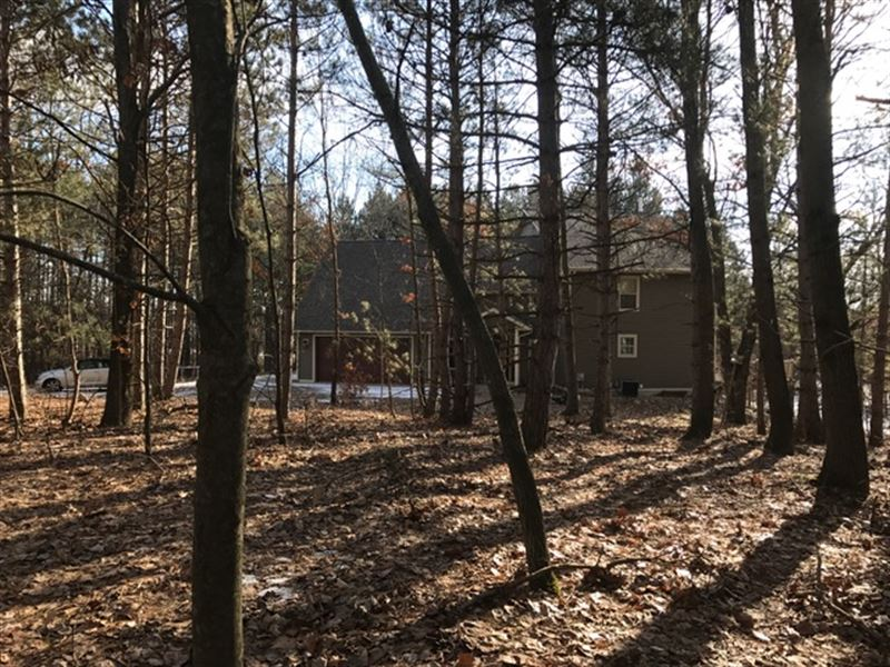 Contemporary Home & Acreage : Hesperia : Oceana County : Michigan
