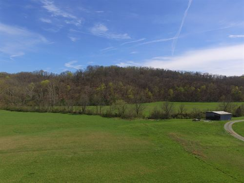 22 Cleared Acres With 800 Ft Creek : Bybee : Cocke County : Tennessee
