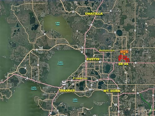 East Eustis Development Acreage : Eustis : Lake County : Florida