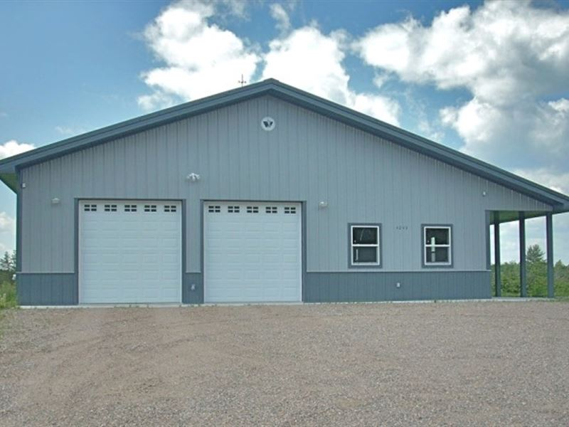 Excellent Location 31.40 Ac : Cassian : Oneida County : Wisconsin