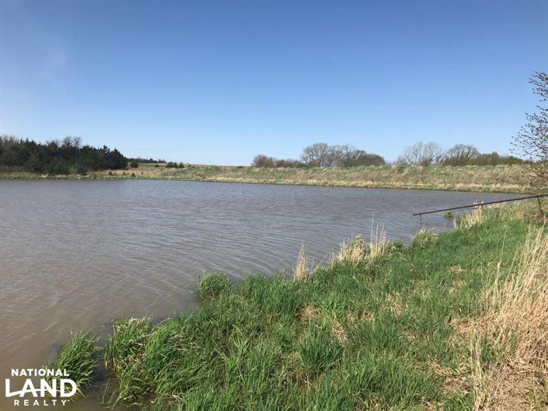 Otoe County Acres With Timber And P : Palmyra : Otoe County : Nebraska