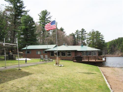 Waterfront Home On Gifford Lake Ny : Camden : Oneida County : New York