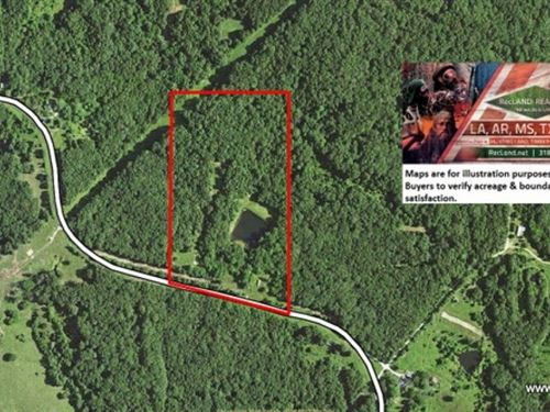 18.2 Ac Hunting Or Rural Home Site : Elmer : Macon County : Missouri