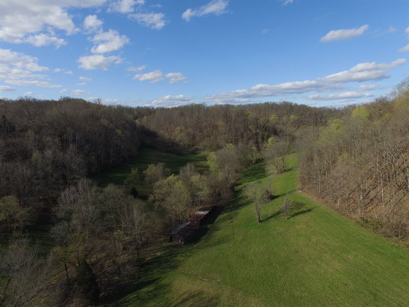 100 Gently Rolling Acres : Mount Pleasant : Maury County : Tennessee