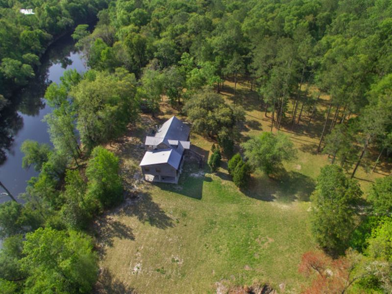 23 Acres On The Suwannee River Ranch For Sale Live Oak
