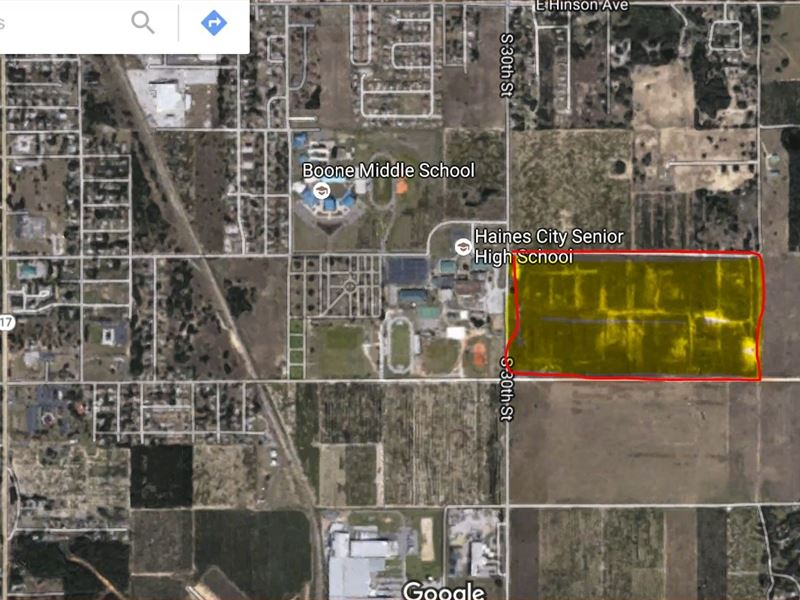 80.62 Acres In Haines City, FL : Haines City : Polk County : Florida