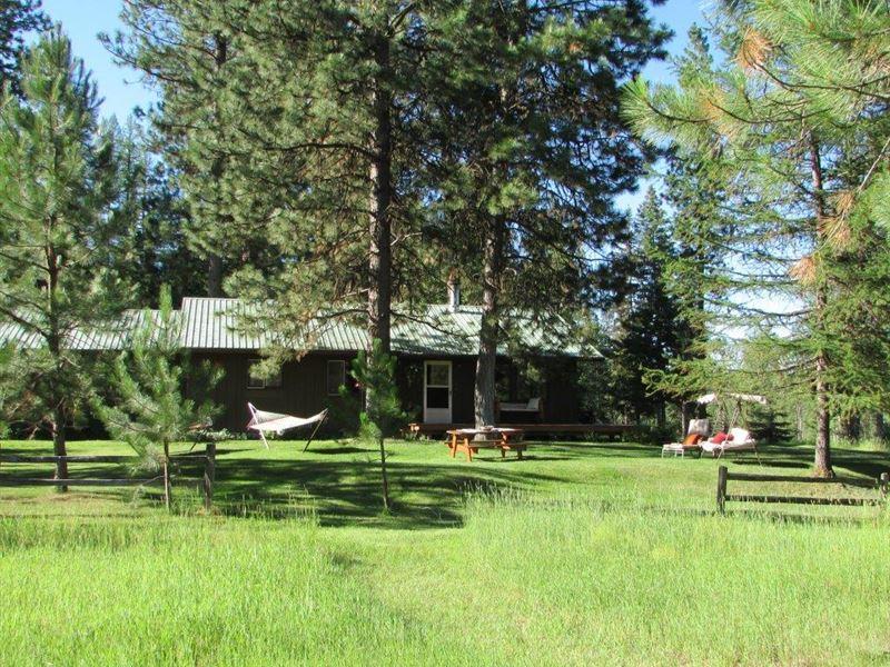 Recreational River Retreat : Condon : Missoula County : Montana