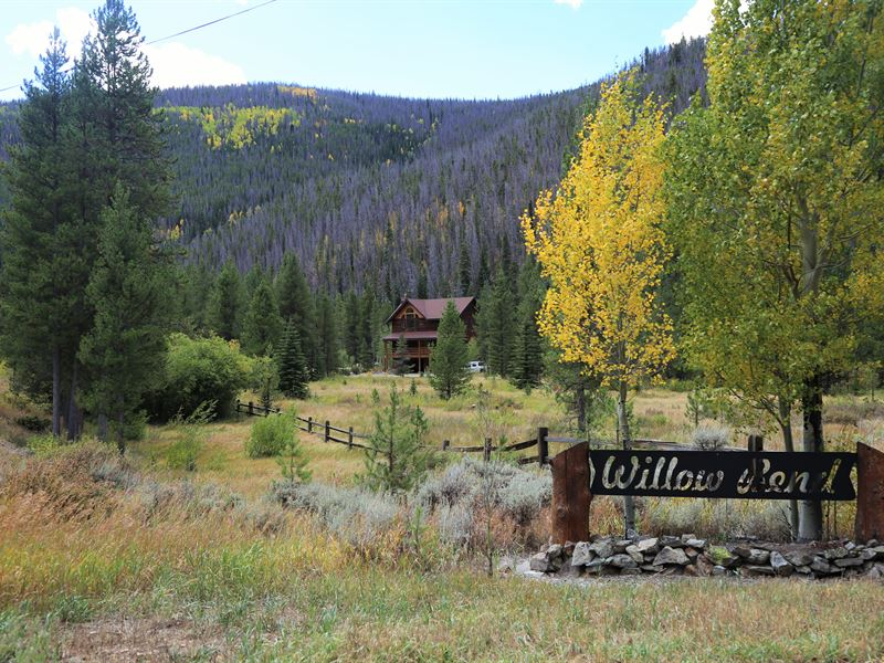 Willows Bend Retreat : Granby : Grand County : Colorado