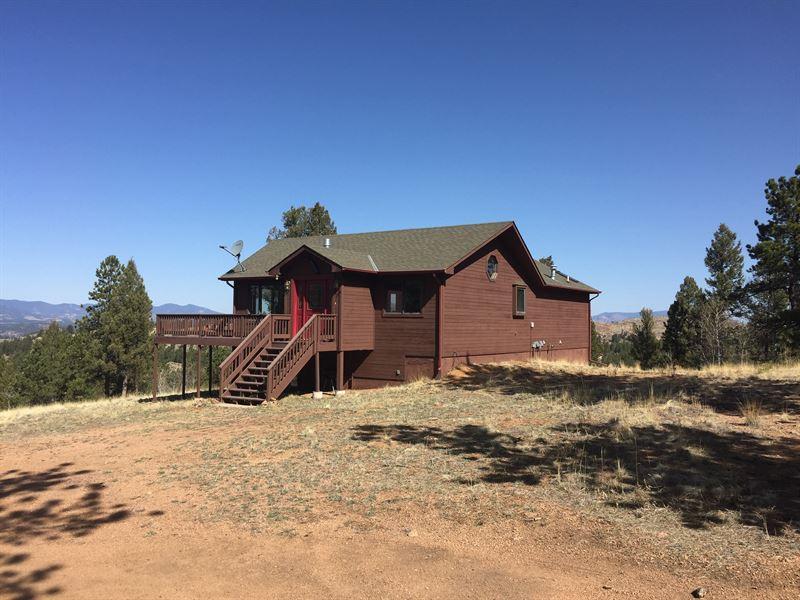 Pawnee Creek Ranch : Florissant : Teller County : Colorado