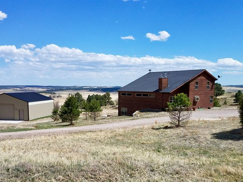Double Tree Ranch Home : Elbert : Elbert County : Colorado