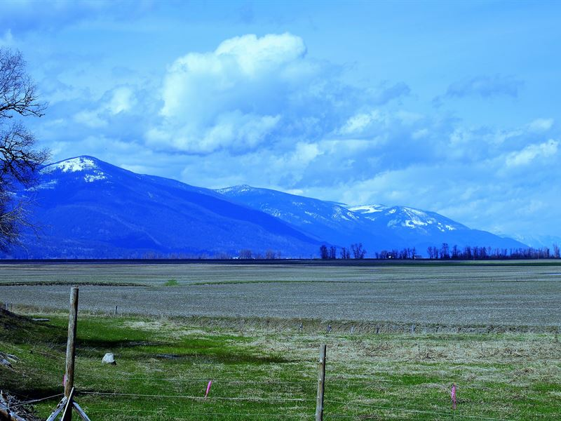 Down River Ranch : Bonners Ferry : Boundary County : Idaho