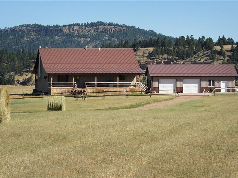 Belle Fourche River Retreat : Alva : Crook County : Wyoming