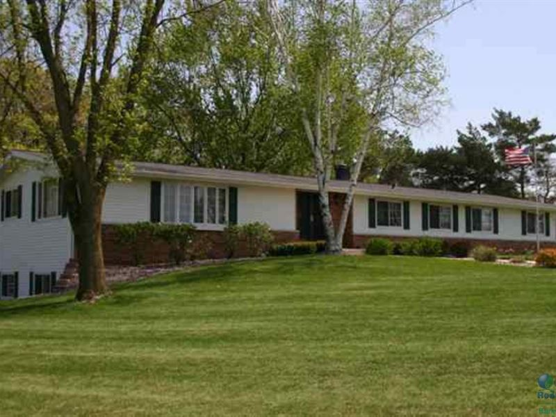 Ranch Home With Acreage For Hunting : Montello : Marquette County : Wisconsin