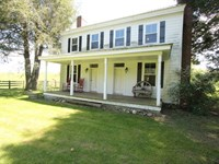 Historic Home, Farm On Trout Stream : Rural Retreat : Wythe County : Virginia
