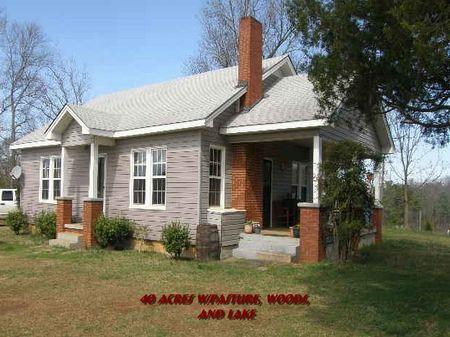 40 Acre Farm/pastureland Near I-20 : Muscadine : Cleburne County : Alabama