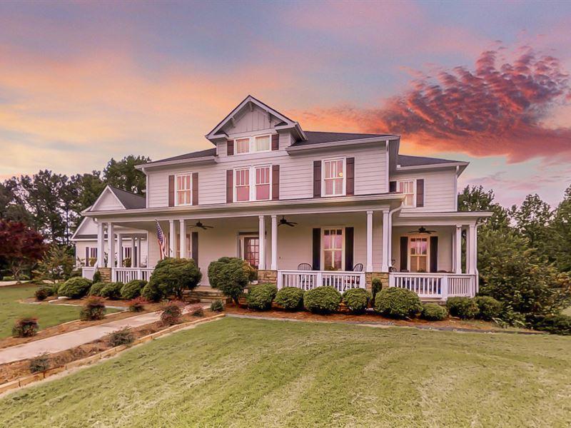 16 Acre Estate - Madison, Ga : Madison : Morgan County : Georgia