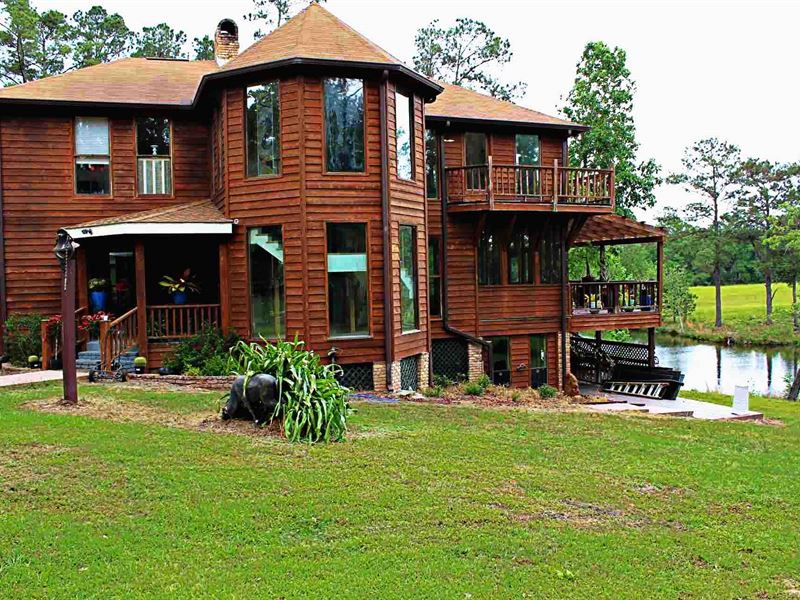 Secluded Estate Ranch For Sale Carriere Pearl River