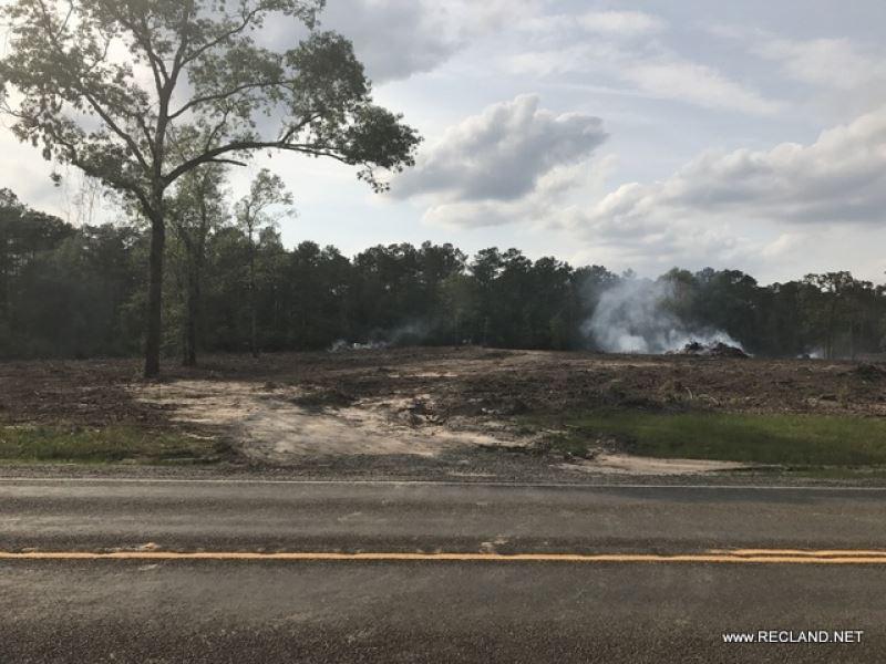 14 Ac Cleared Rural Home Site Trac : Jasper : Jasper County : Texas