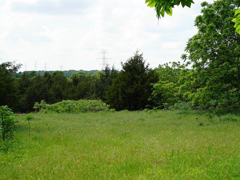 Central Oklahoma Hunting Property : Harrah : Lincoln County : Oklahoma