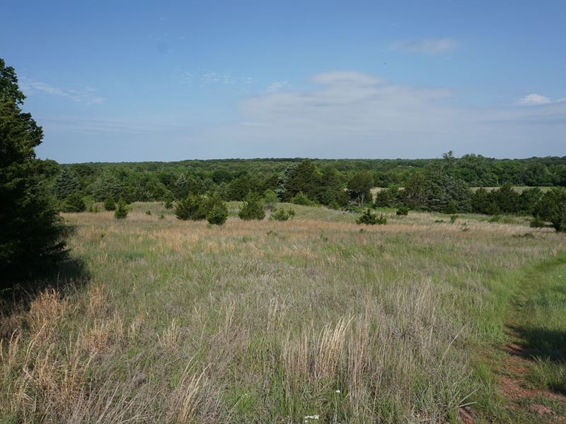 Central Ok Farm / Hunting Property : Perkins : Lincoln County : Oklahoma