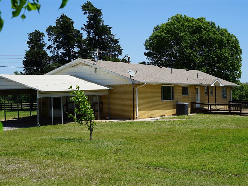 Central Oklahoma Farm For Sale : Chandler : Lincoln County : Oklahoma