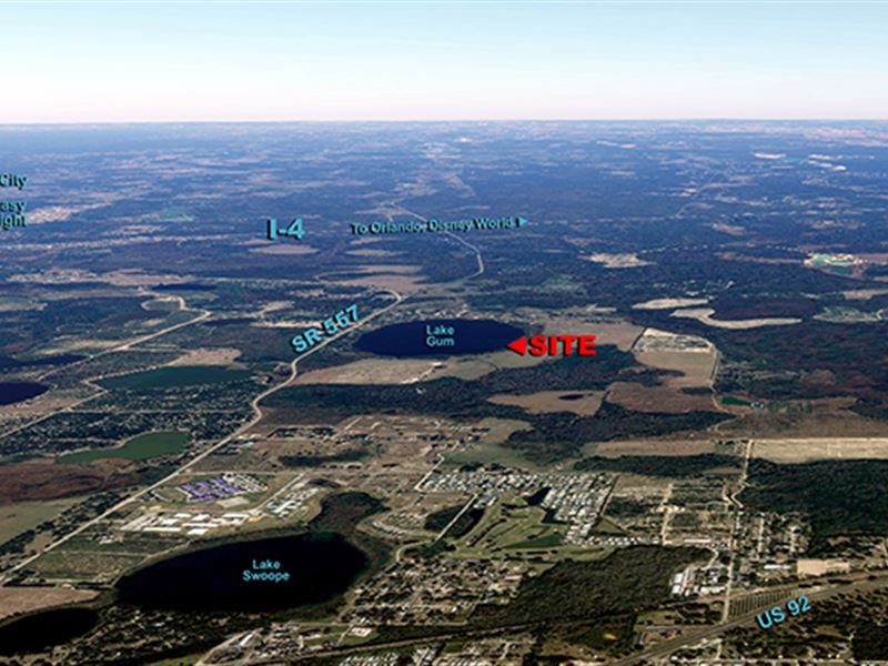 N E Polk Residential Acreage : Lake Alfred : Polk County : Florida