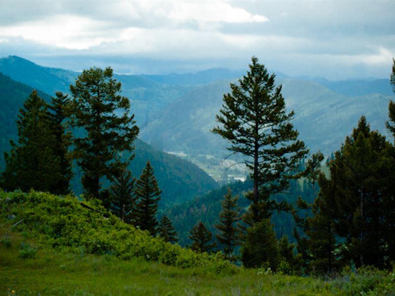 Private Mountain View Acreage - Clo : Missoula : Granite County : Montana