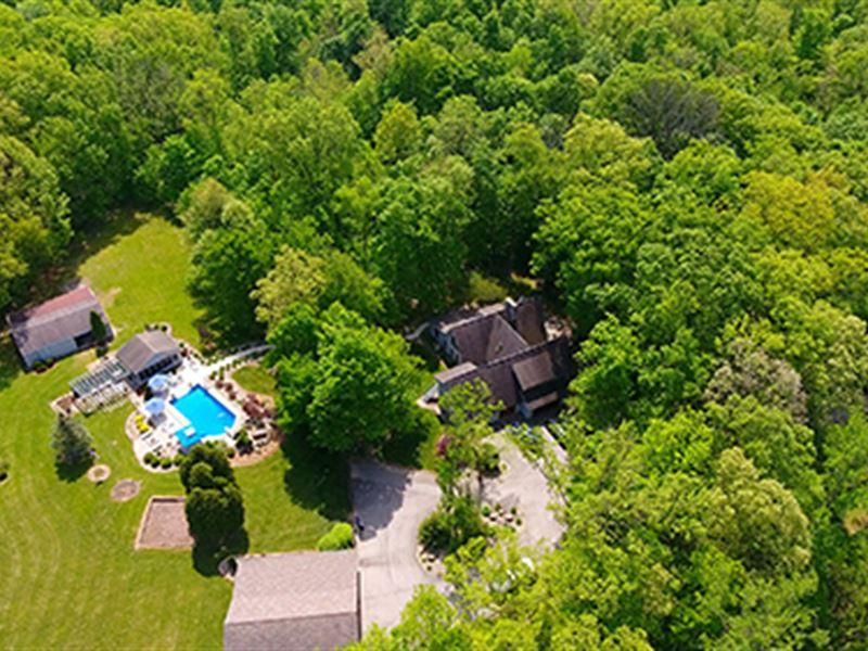 Real Estate Auction - 18.57 Acre : Huntington : Huntington County : Indiana