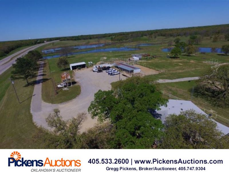 Ranch Land Auction : Ardmore : Carter County : Oklahoma