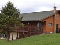 For Sale Home On 100.48 Acres : Willis : Floyd County : Virginia