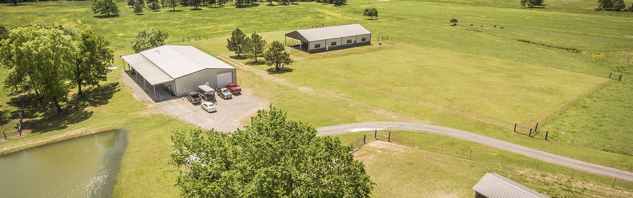 120 Ac Farm/Ranch Greers Ferry Lake