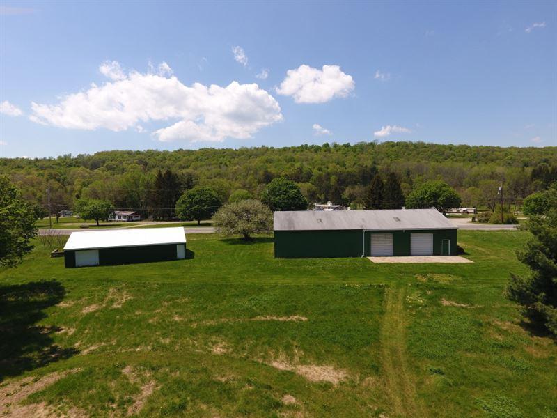 75 Acres In Newark Valley Ny : Newark Valley : Tioga County : New York