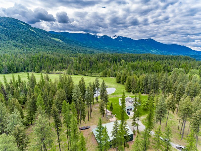 Clifty Mountains : Bonners Ferry : Boundary County : Idaho