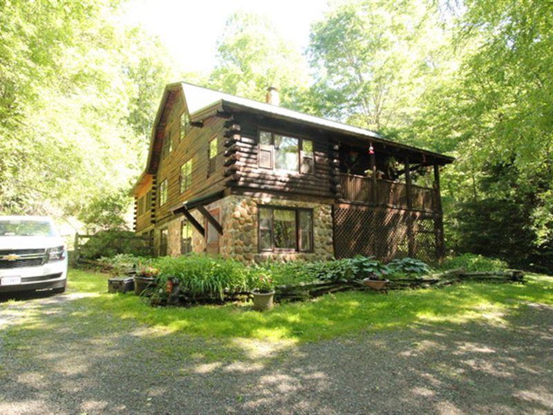 Blue Ridge Mountain Cabin And Acres : Mouth Of Wilson : Grayson County : Virginia