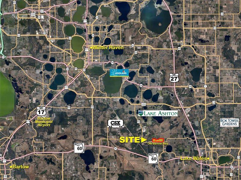 Se Winter Haven Residential Dev : Lake Wales : Polk County : Florida