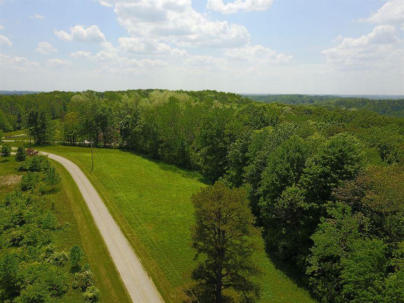 Borah Hill Rd - 11 Acres : Sugar Grove : Fairfield County : Ohio