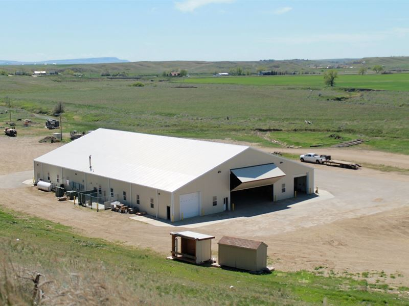 Industrial Shop, Acreage & More : Havre : Hill County : Montana