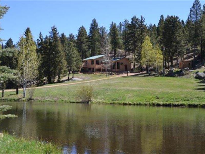 Box V Cabin : Woodland Park : Teller County : Colorado