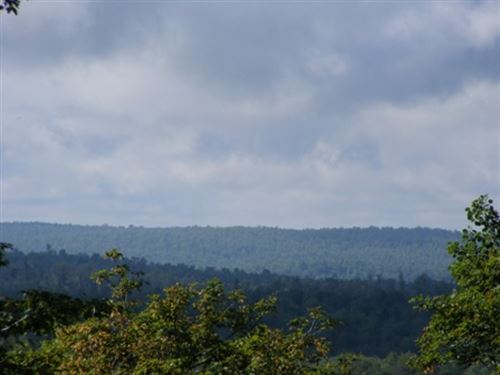Panoramic Mountain Views : Parishville : Saint Lawrence County : New York