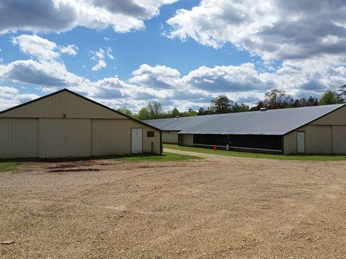 Two House Broiler Farm In Walker Co : Jasper : Walker County : Alabama