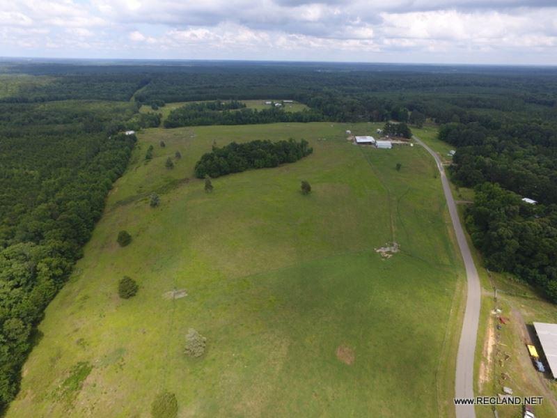 57 Ac - Improved Pasture & Barn : Ruston : Lincoln Parish : Louisiana