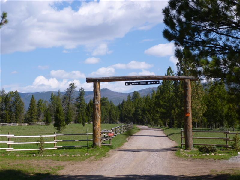 Landers Fork Ranch : Lincoln : Lewis And Clark County : Montana