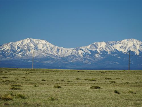 Ranch With Power & Mountain Views : Walsenburg : Huerfano County : Colorado