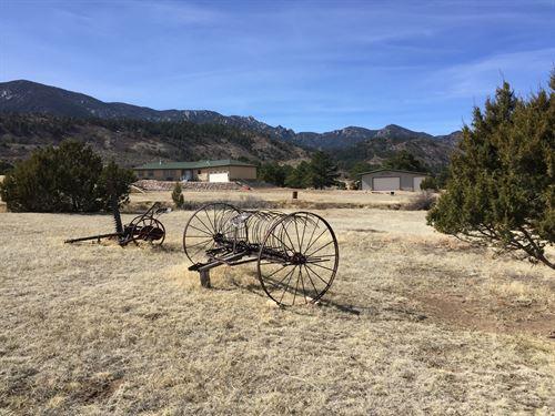 Vee Locke Ranch : Florence : Custer County : Colorado