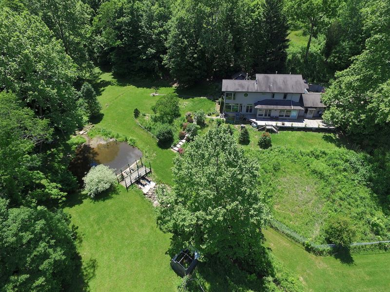 Dutch Creek Rd - 171 Acres : Athens : Athens County : Ohio