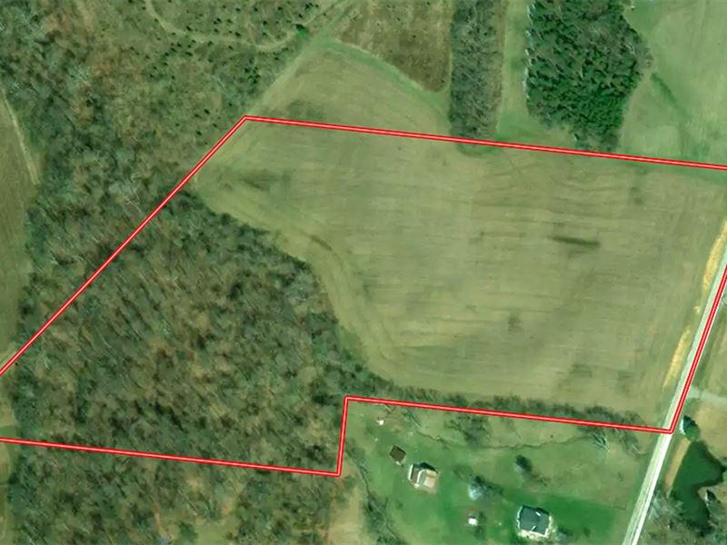 Farming & Recreational Land : Hillsboro : Highland County : Ohio