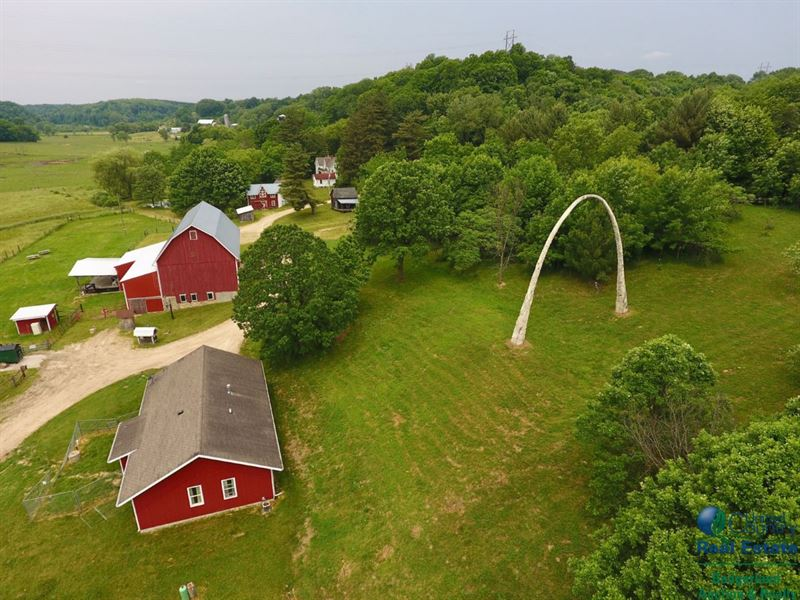 Dream Property With Potential : Hillsboro : Vernon County : Wisconsin