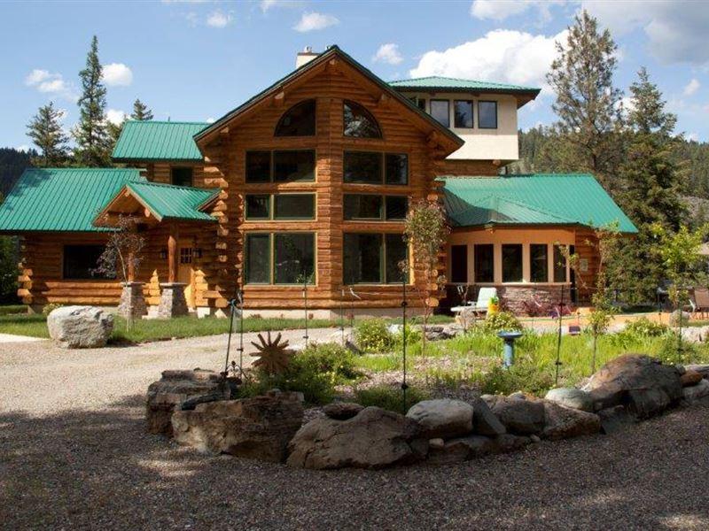 Eagles Nest Over Kootenai : Libby : Lincoln County : Montana