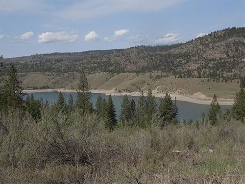 Views Of Roosevelt Lake : Davenport : Lincoln County : Washington